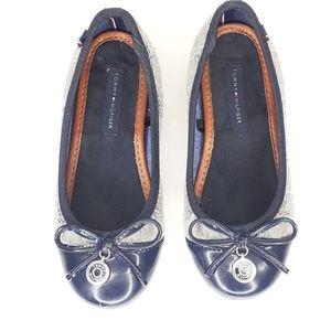 Tommy Hilfiger Shoes - Tommy Hilfiger Girls Size 13 Ballet Flat Shoes